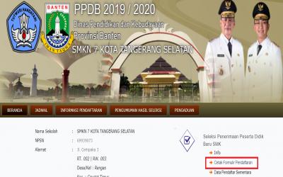 Cara Mendaftar dan Format Penulisa Nomor Pendaftaran PPDB 2019