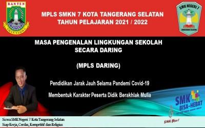 MPLS TAHUN PELAJARAN 2021/2022
